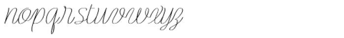 Rachele Semi Ribbon Font LOWERCASE