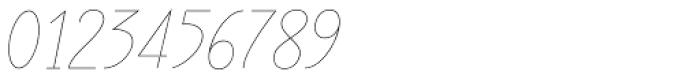 Rachele UltraCond Light Font OTHER CHARS