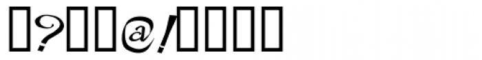 Rackham Italic Font OTHER CHARS