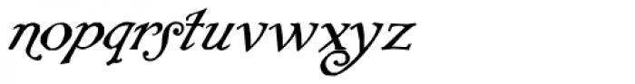 Rackham Italic Font LOWERCASE