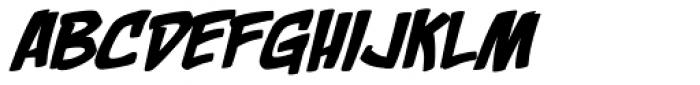 Rackum Frackum BB Italic Font UPPERCASE