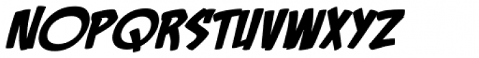 Rackum Frackum BB Italic Font LOWERCASE