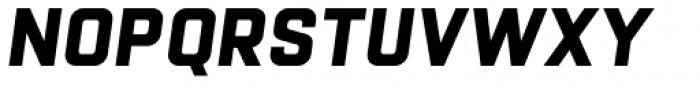 Racon Basic Bold S Font UPPERCASE