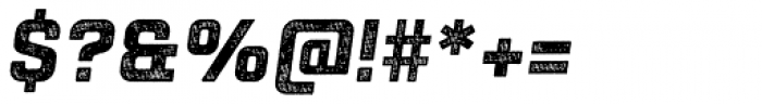 Racon Old Carbon Bold S Font OTHER CHARS