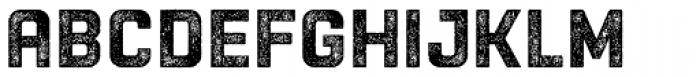 Racon Worn Bold Font UPPERCASE