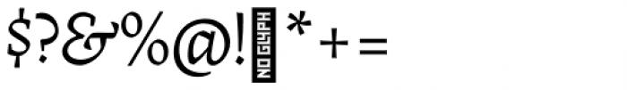 Radal Ultra Light Font OTHER CHARS