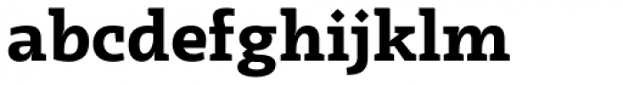 Radcliffe Bold Font LOWERCASE