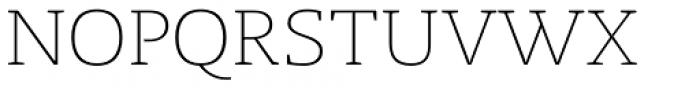 Radcliffe Light Font UPPERCASE