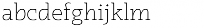Radcliffe Light Font LOWERCASE
