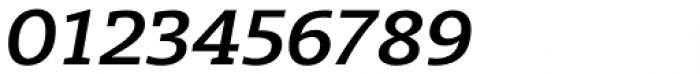 Radcliffe Semi Bold Italic Font OTHER CHARS