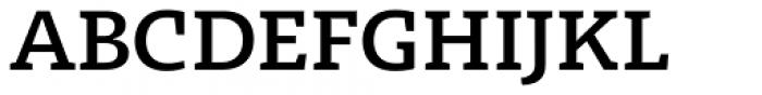 Radcliffe Semi Bold Font UPPERCASE