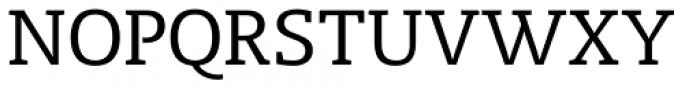 Radcliffe Text Regular Font UPPERCASE