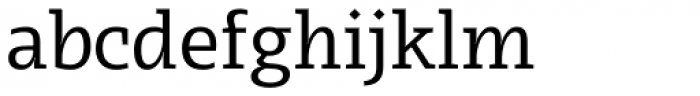 Radcliffe Text Regular Font LOWERCASE