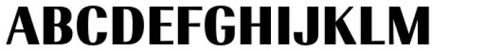 Radiant EF Text Black Font UPPERCASE