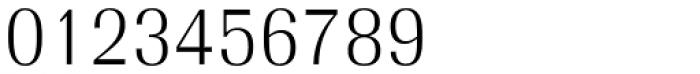 Radiant EF Text Light Font OTHER CHARS
