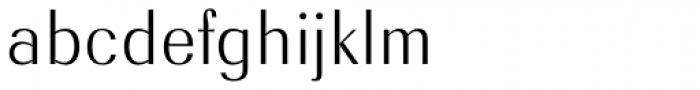 Radiant EF Text Light Font LOWERCASE