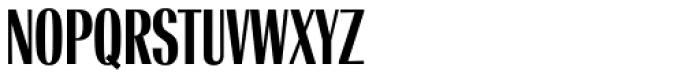 Radiant RR Bold Condensed Font UPPERCASE