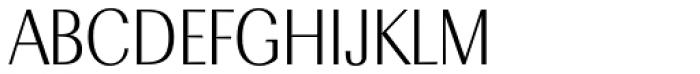 Radiant RR Medium Font UPPERCASE