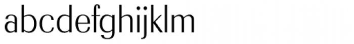Radiant RR Medium Font LOWERCASE