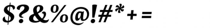 Radiata Black Italic Font OTHER CHARS