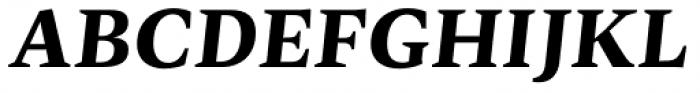 Radiata Black Italic Font UPPERCASE
