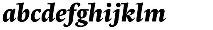 Radiata Black Italic Font LOWERCASE