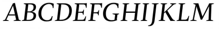 Radiata Deck Italic Font UPPERCASE