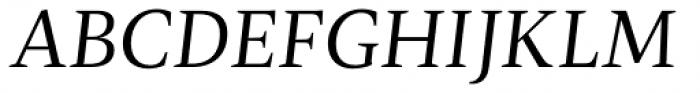 Radiata Italic Font UPPERCASE