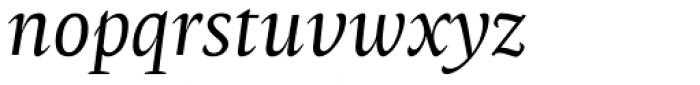 Radiata Italic Font LOWERCASE