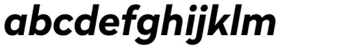 Radikal Bold Italic Font LOWERCASE