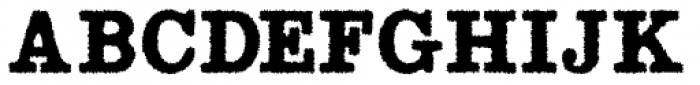 Radio Interference Regular Font UPPERCASE