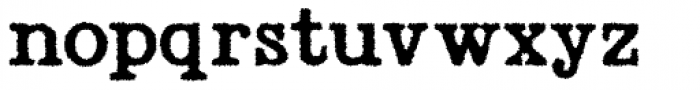 Radio Interference Regular Font LOWERCASE