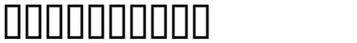Raffia Font OTHER CHARS