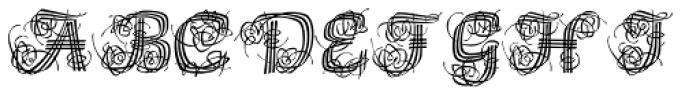 Raffia Font UPPERCASE
