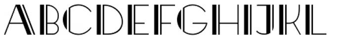 Raffles Open Font UPPERCASE