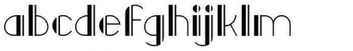 Raffles Open Font LOWERCASE