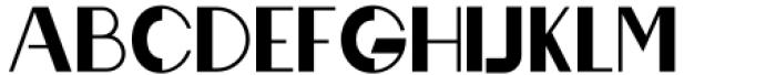 Rafisqi Bold Font UPPERCASE