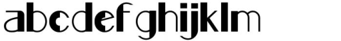 Rafisqi Bold Font LOWERCASE