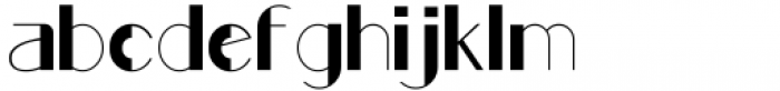Rafisqi Regular Font LOWERCASE