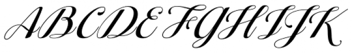 Ragazza Script Font UPPERCASE