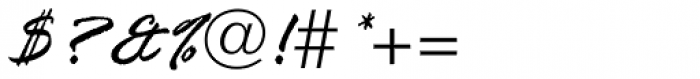 Rage Italic Com Font OTHER CHARS