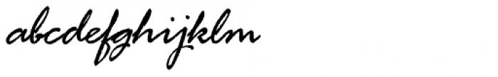 Rage Italic Com Font LOWERCASE