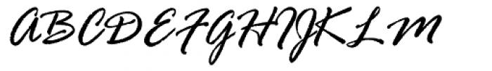 Rage Italic Font UPPERCASE