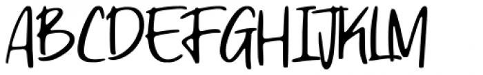 Ragnarock Regular Font UPPERCASE