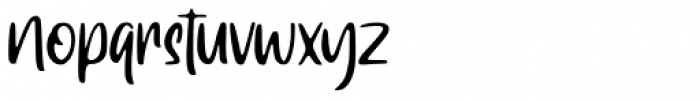 Ragnarock Regular Font LOWERCASE