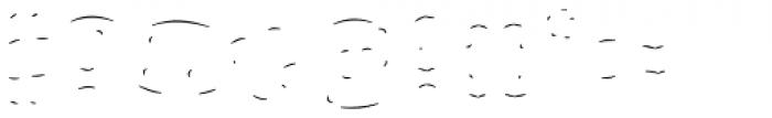 Rague Pro Shine Line Font OTHER CHARS