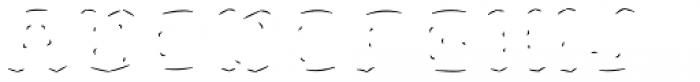 Rague Pro Shine Line Font UPPERCASE