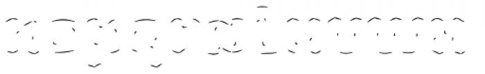 Rague Pro Shine Line Font LOWERCASE