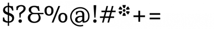 Rail Regular Font OTHER CHARS