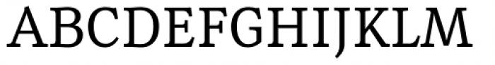 Rail Regular Font UPPERCASE